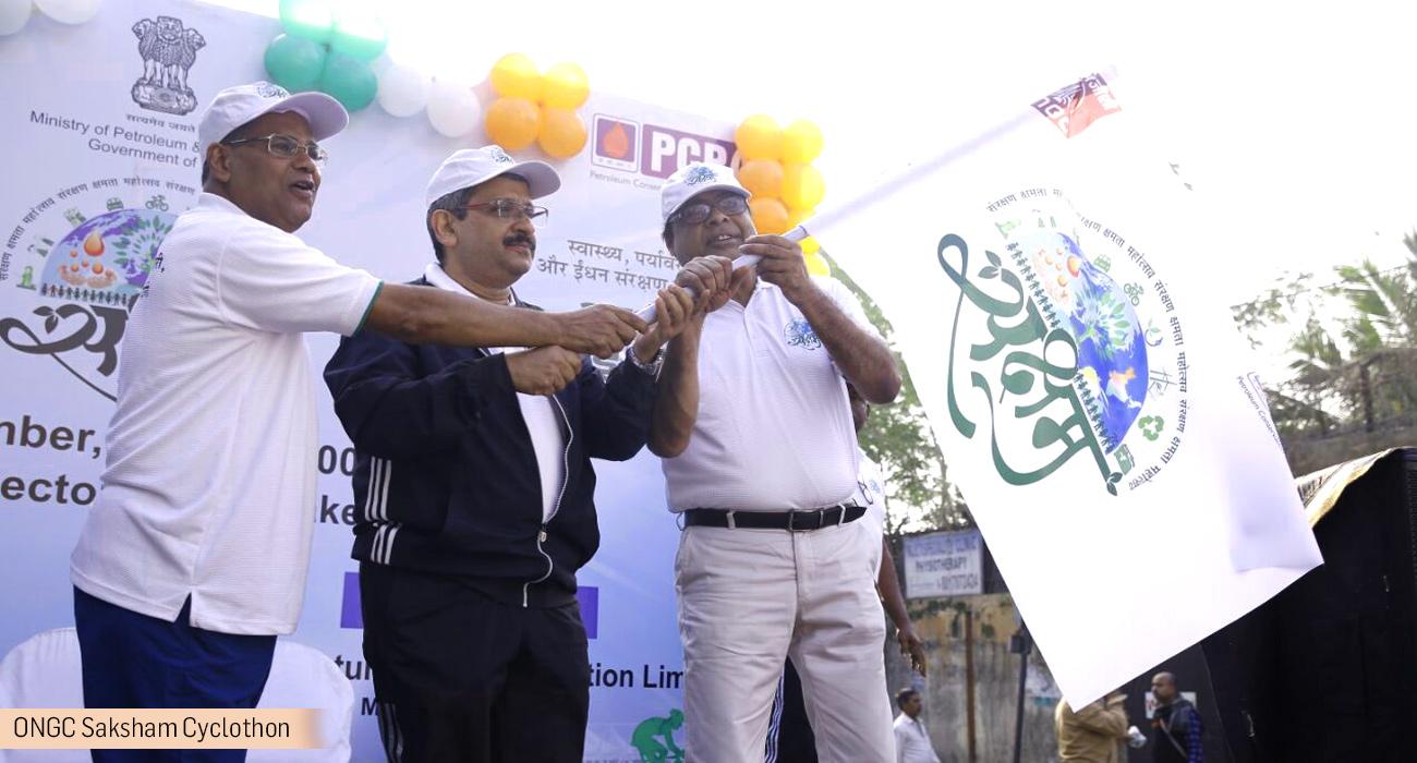 ONGC Saksham Cyclothon