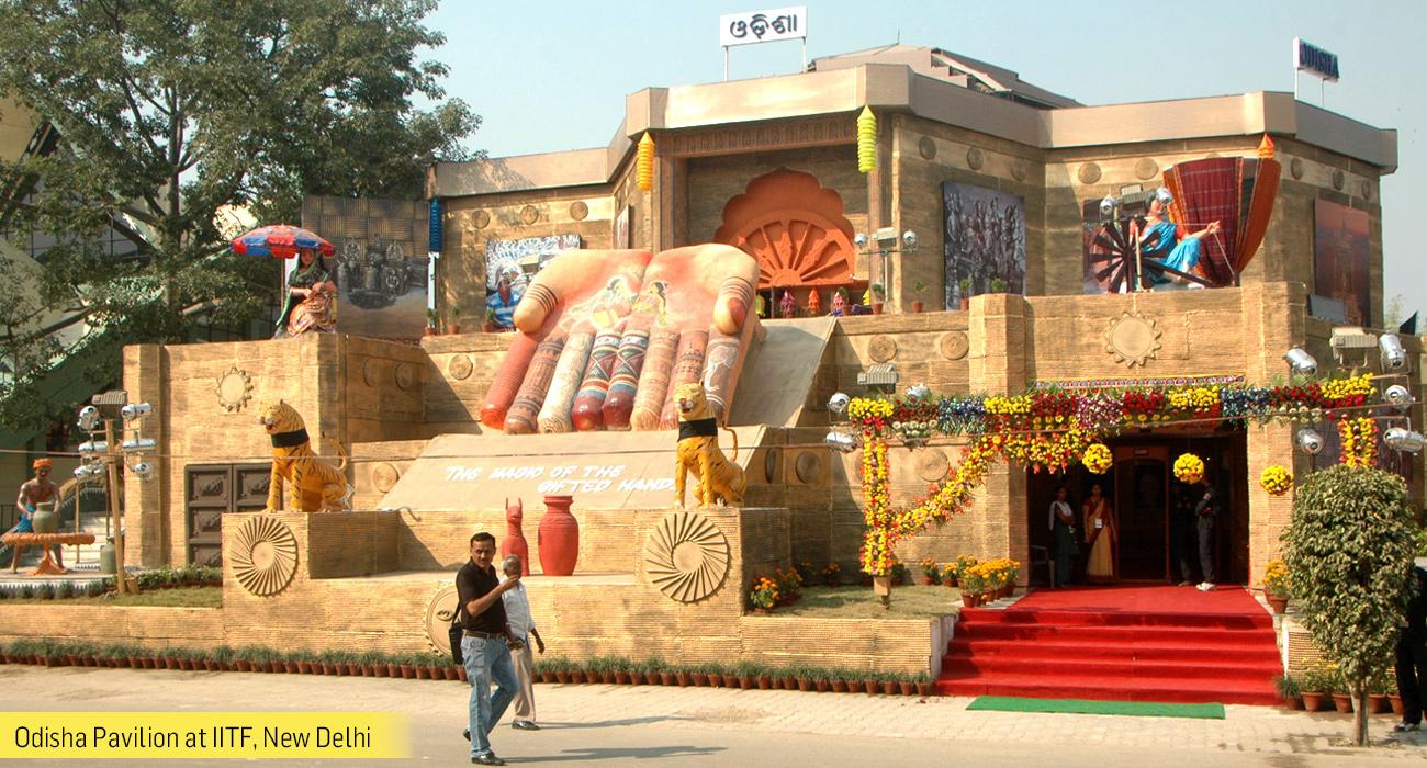 Odisha Pavilion at IITF,New Delhi