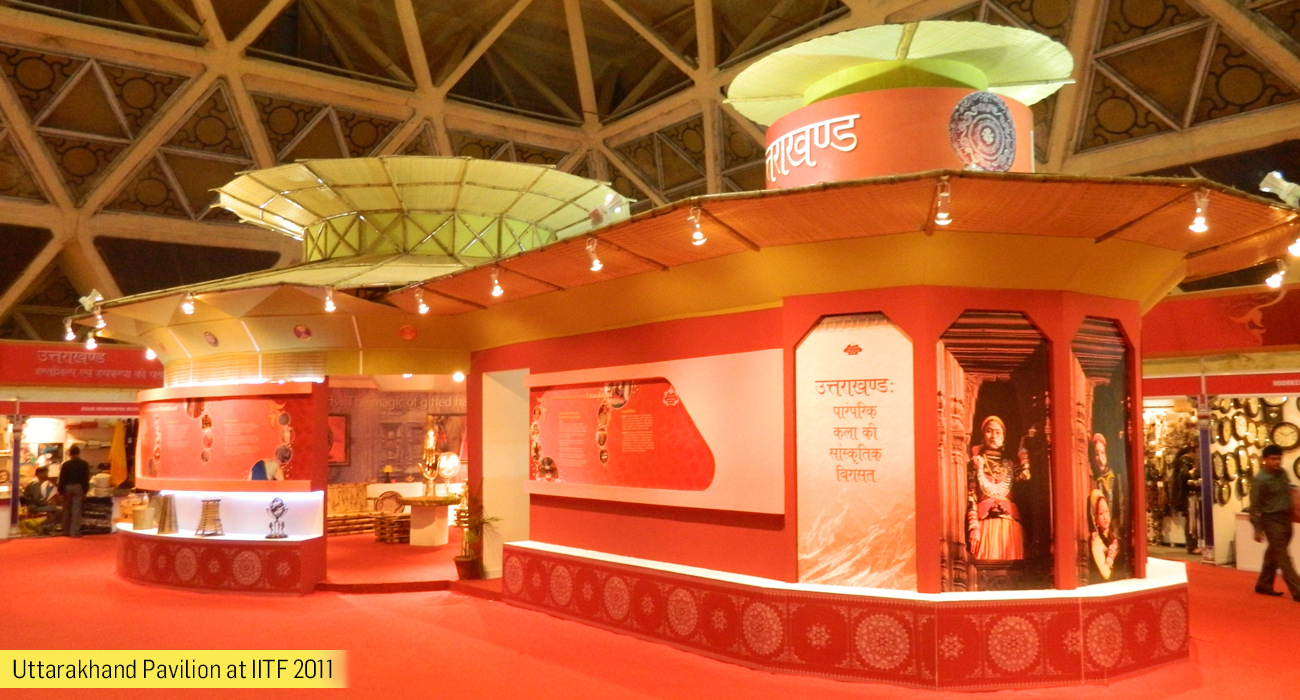 Uttarakhand Pavilion at IITF -2011