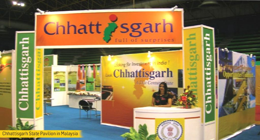 Chhattisgarh State Pavilion in Malaysia