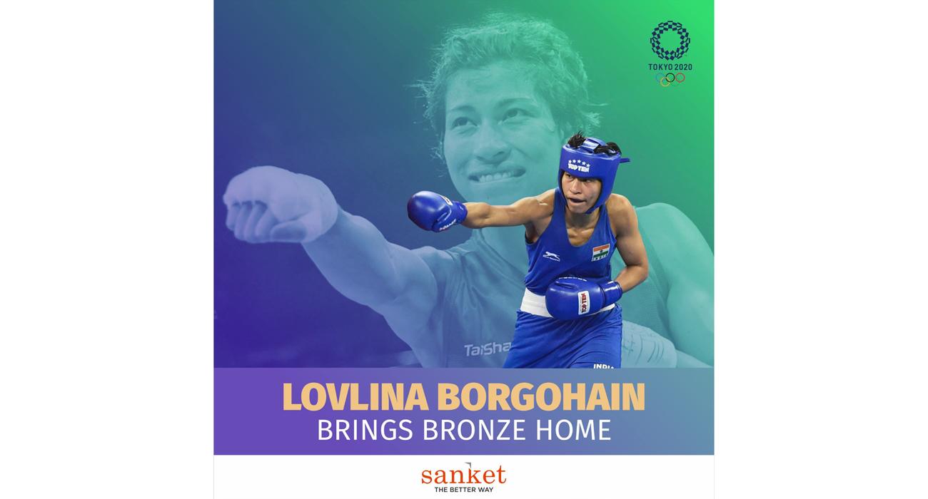 Lovlina Bronze Medalist