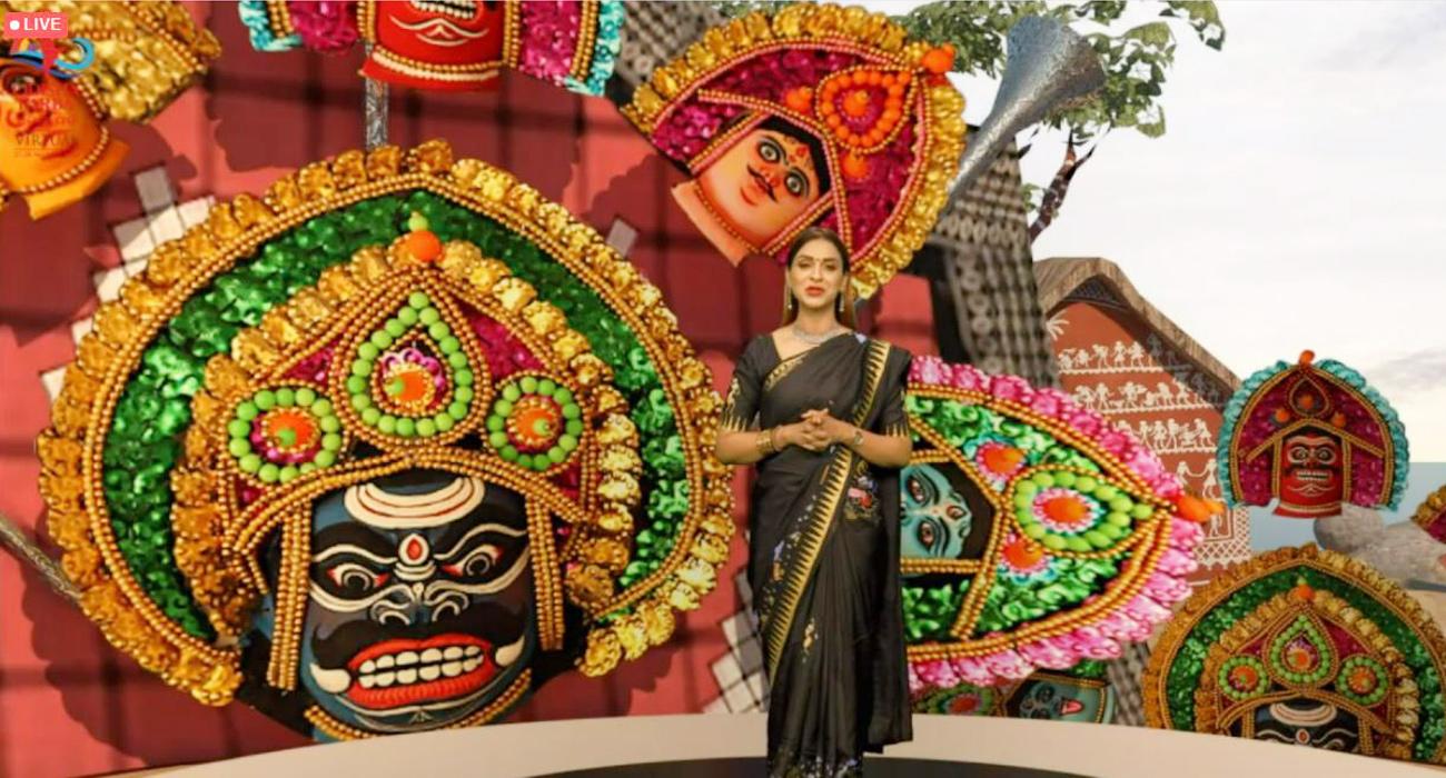 Munmun Singh @Odishaparba