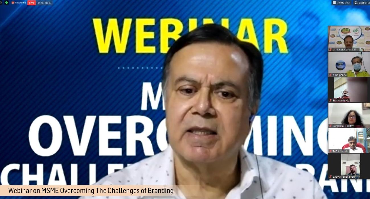 Webinar on MSME