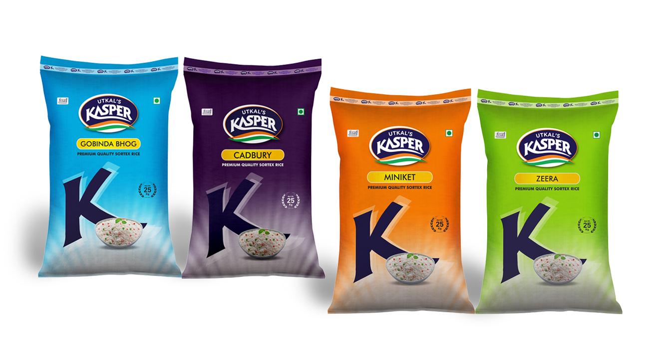 Kasper Rice Packaging