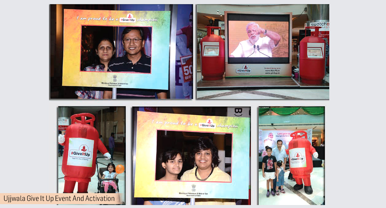 Ujjwala Give It Up Event And Activation
