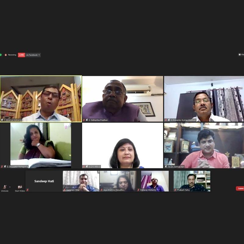 Odia Samaj Covidcare Webinar