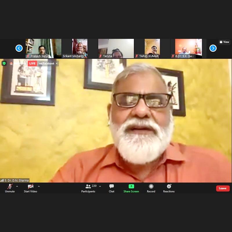 Odia Samaj Covidcare Webinar on Naturopathy and Covidcare at Home