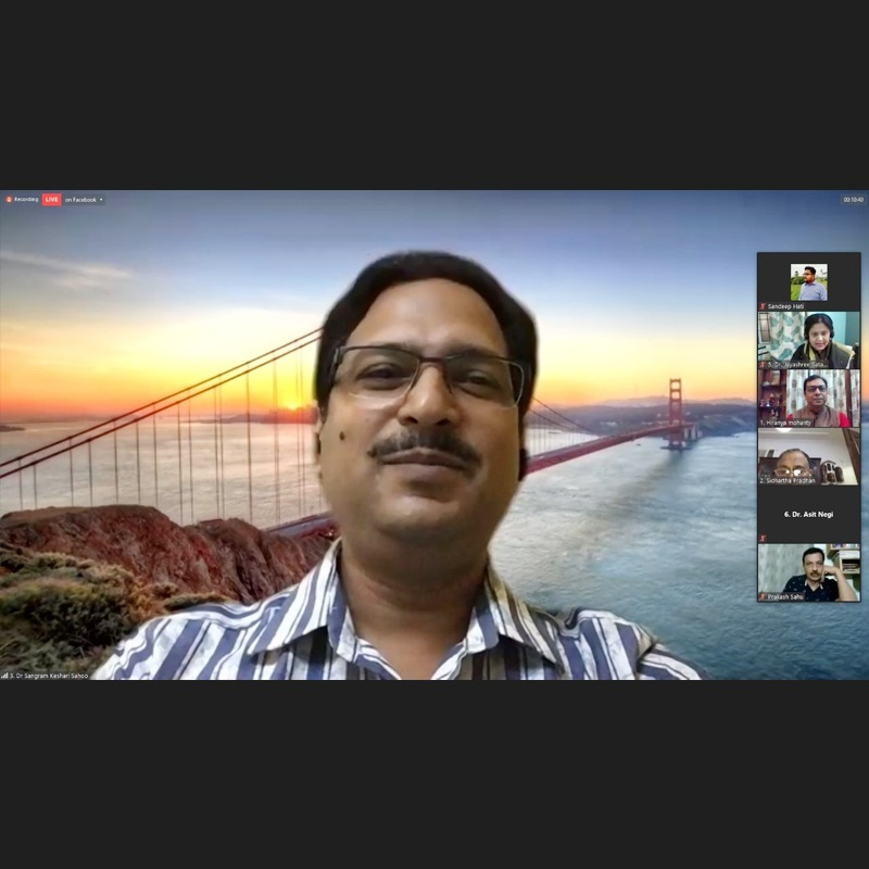 Odia Samaj Covidcare Webinar on Finding Solution From Within - A Spiritual Perspective