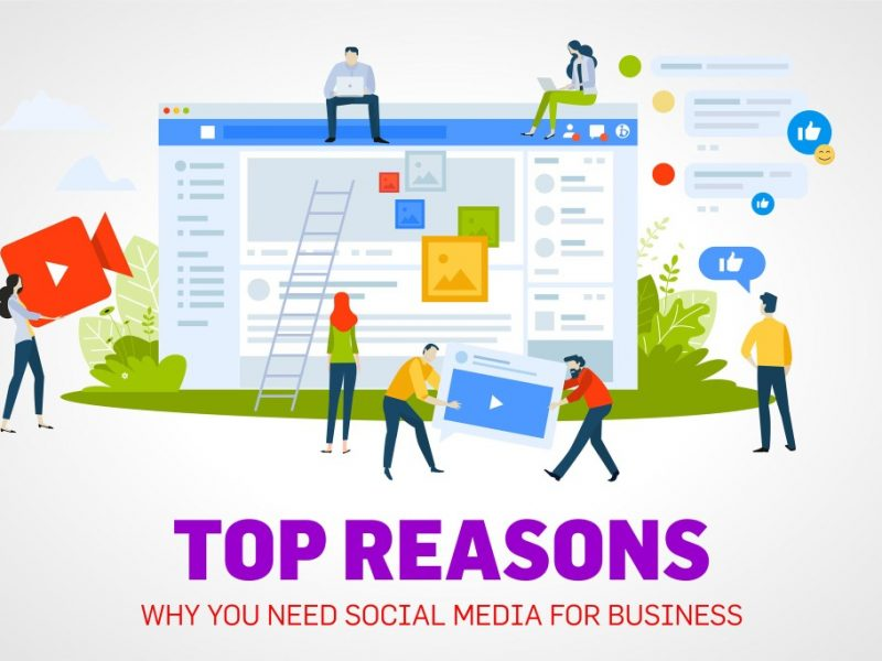 Top Reasons Why You Need Social Media for Business