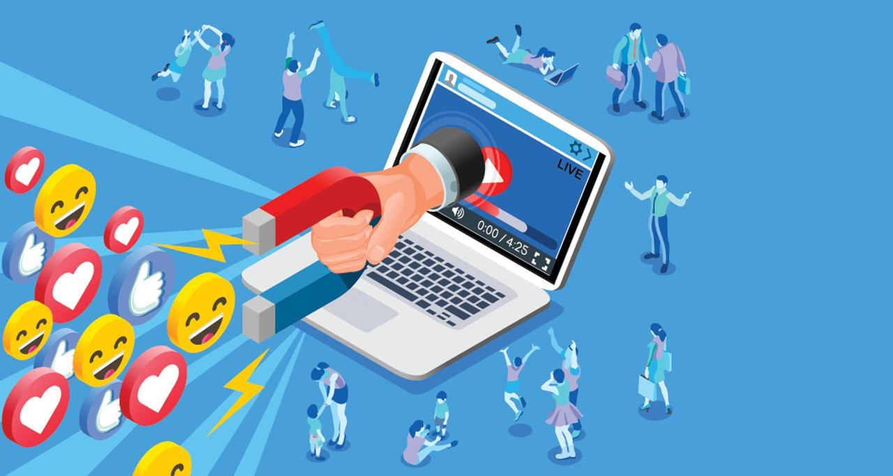 Website Traffic through social media