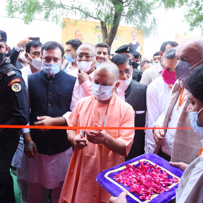 Inauguration of MoPNG Pavillion by CM Yogi Adityanath on World Bio-Fuel Day